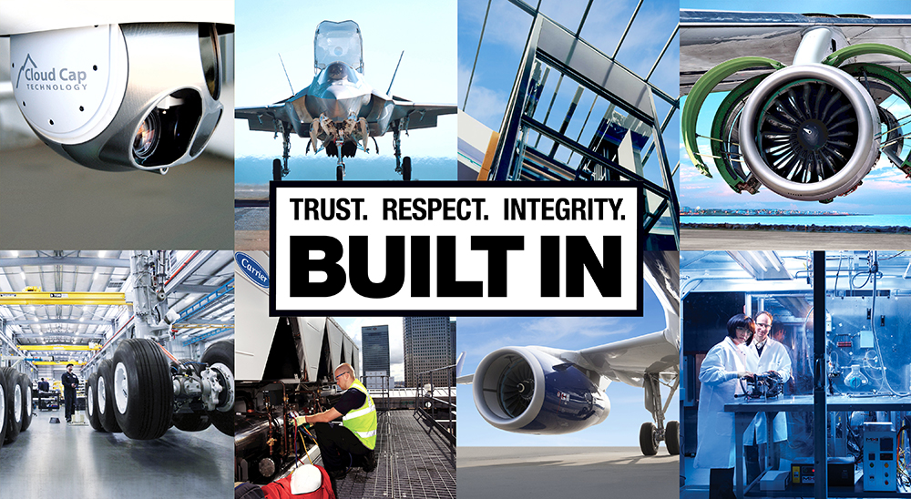 Trust. Respect. Integrity. Built in